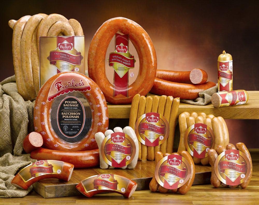 Assorted Pork Sausages and Coils