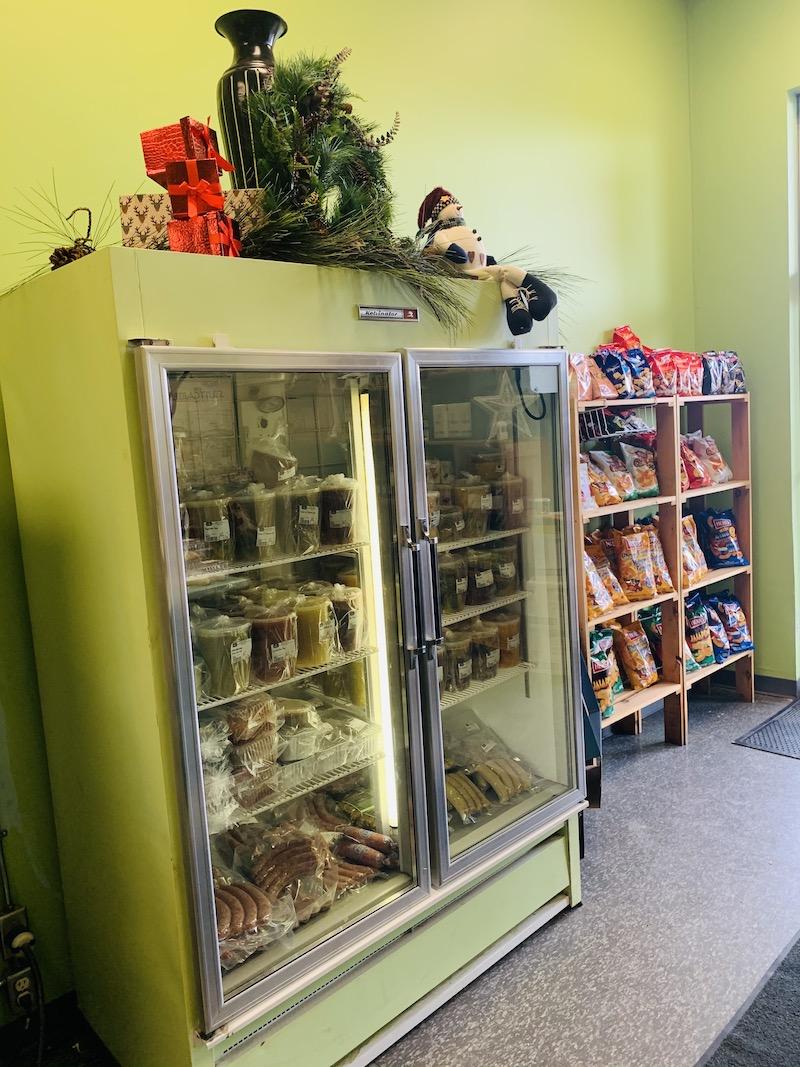 Freezer Section