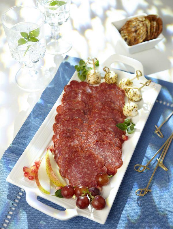 Hungarian Salami Plated