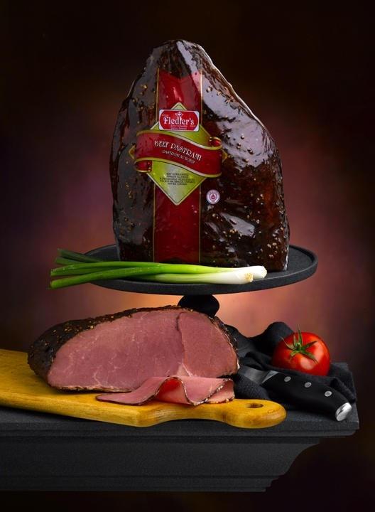 Beef Pastrami Load Cutting Board