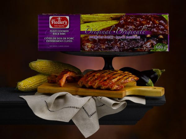 Fiedler Meats Fully Cooked Back Ribs